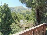 Vorschau Blick vom Balkon des Zirben Masterbedrooms